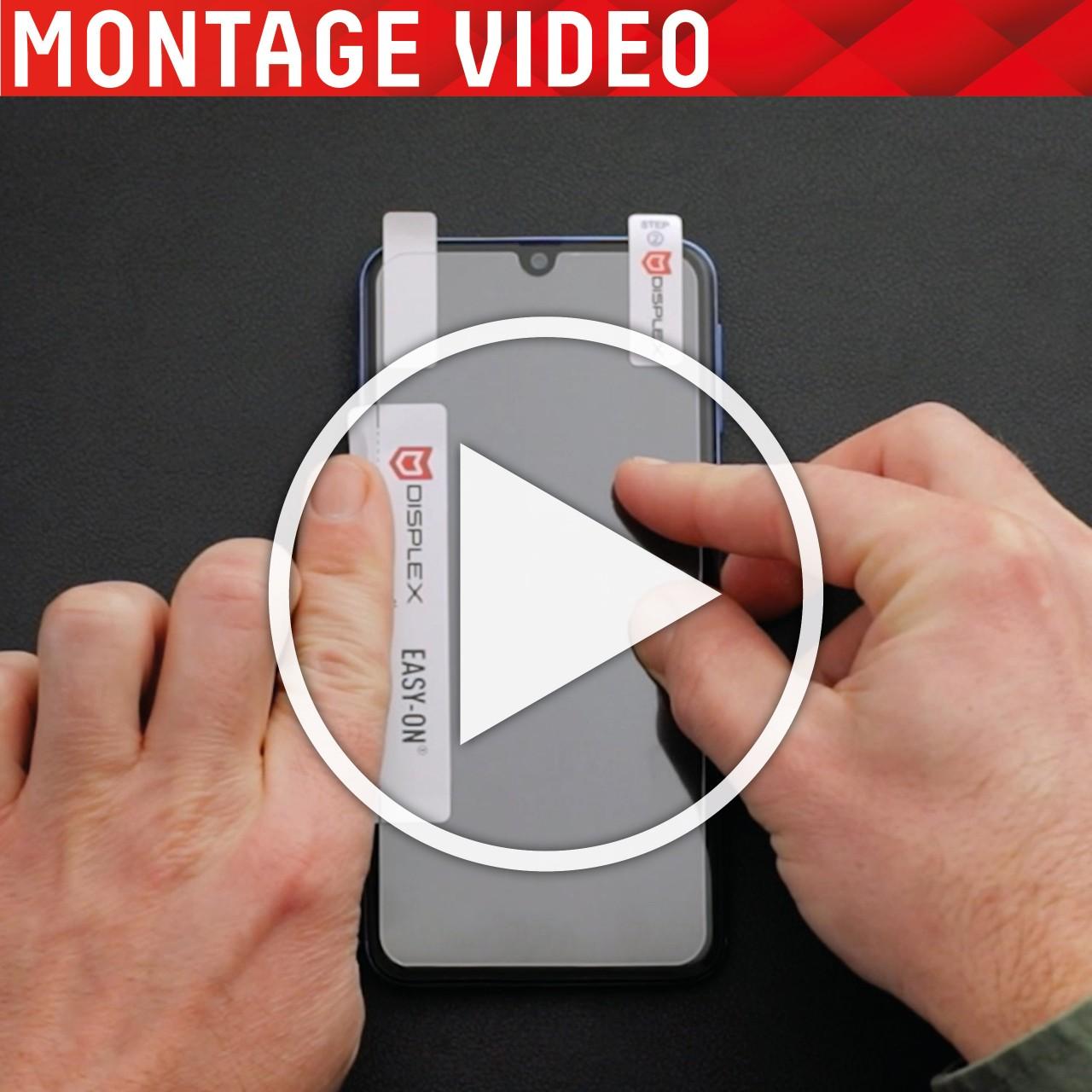 iPhone 12 mini 2D Schutzglas + Case