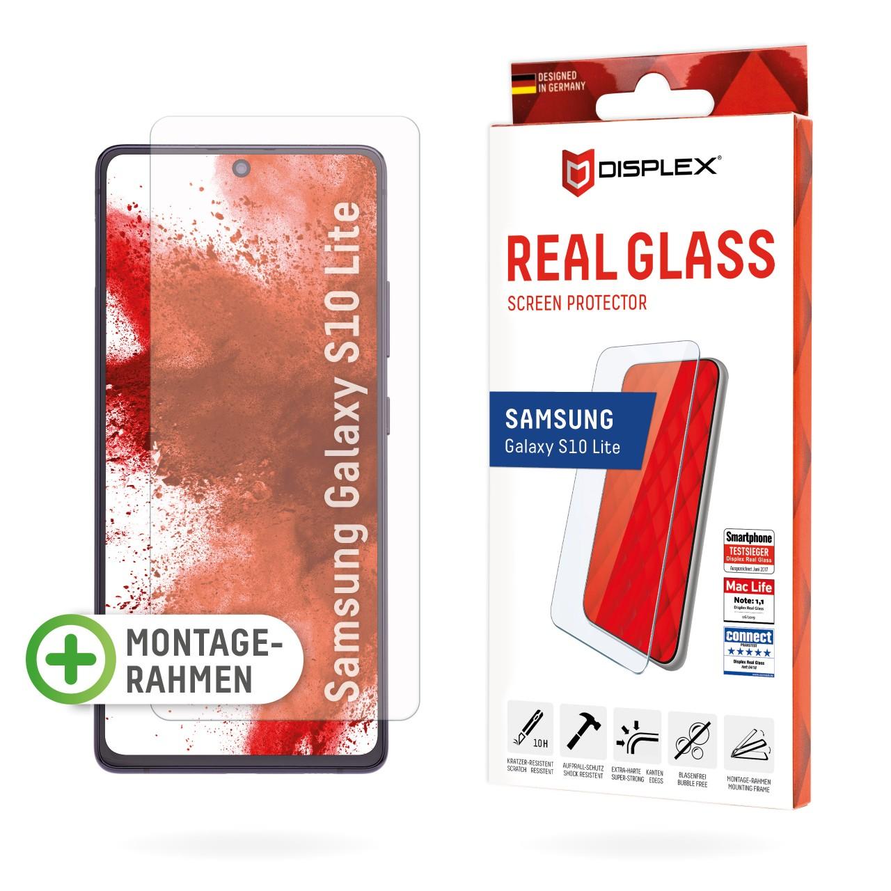 Galaxy S10 Lite Schutzglas (2D)
