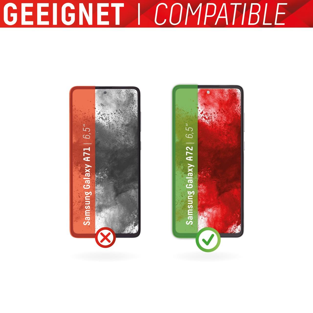 Galaxy A72 Full Cover Schutzglas