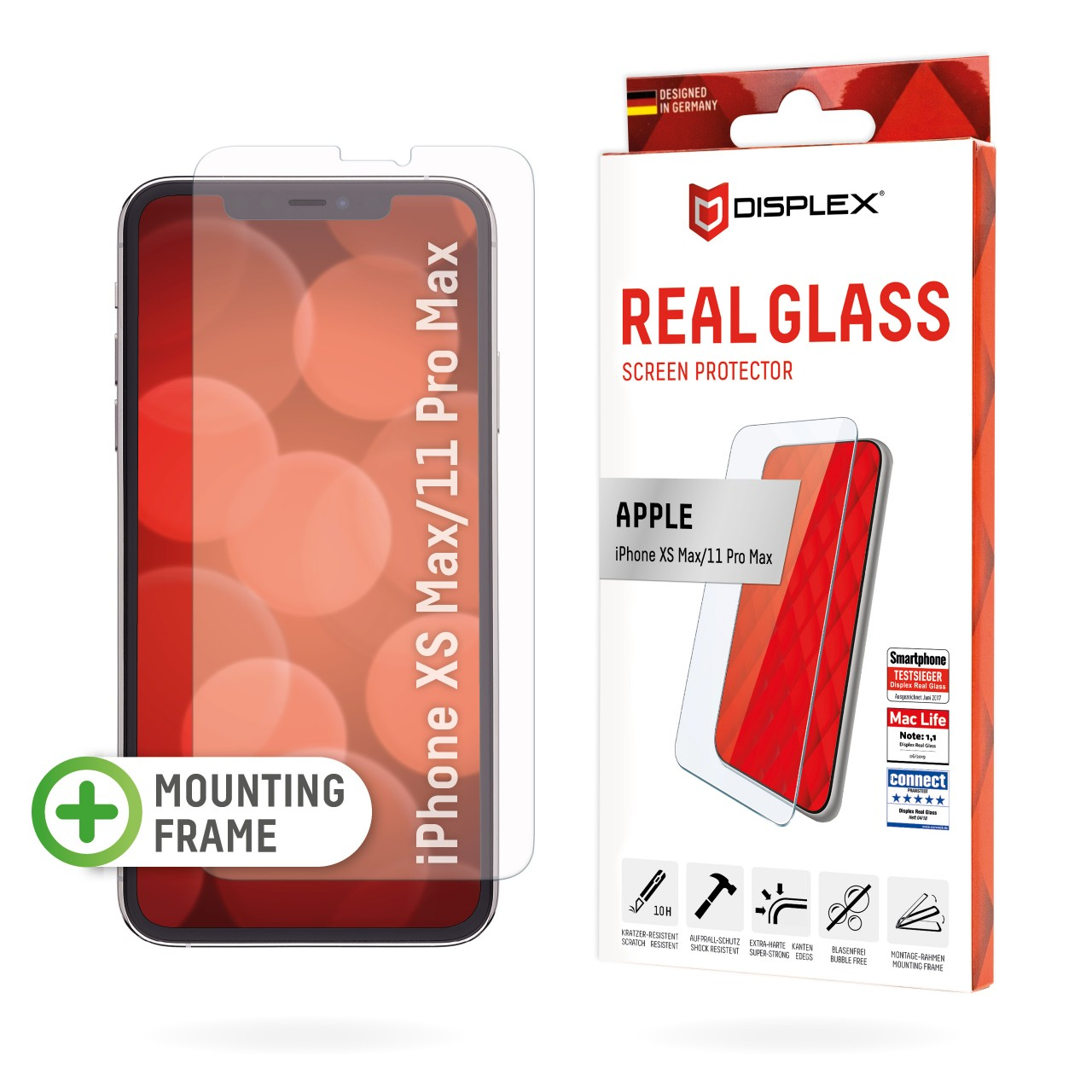 """Real Glass for Apple iPhone XS Max/11 Pro Max (6,5""""), 2D"""