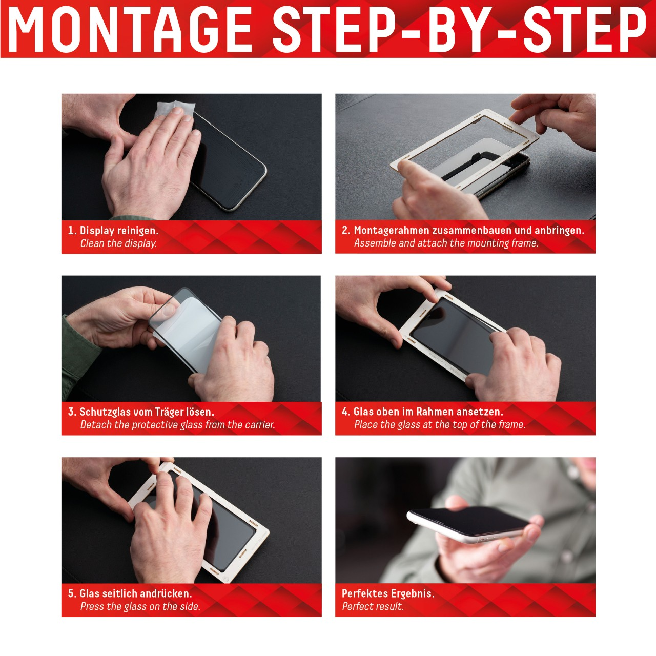 iPhone 13 mini Full Cover Schutzglas