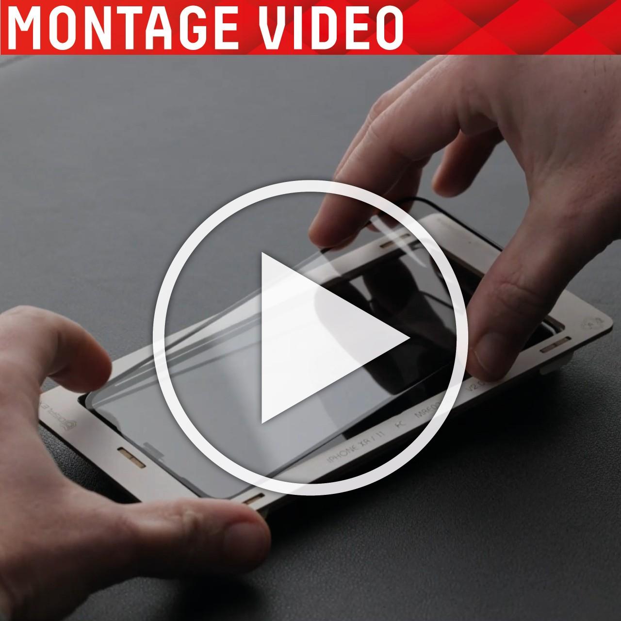 iPhone 12/12 Pro 3in1 Schutzglas (antiviral/ -bakt.)