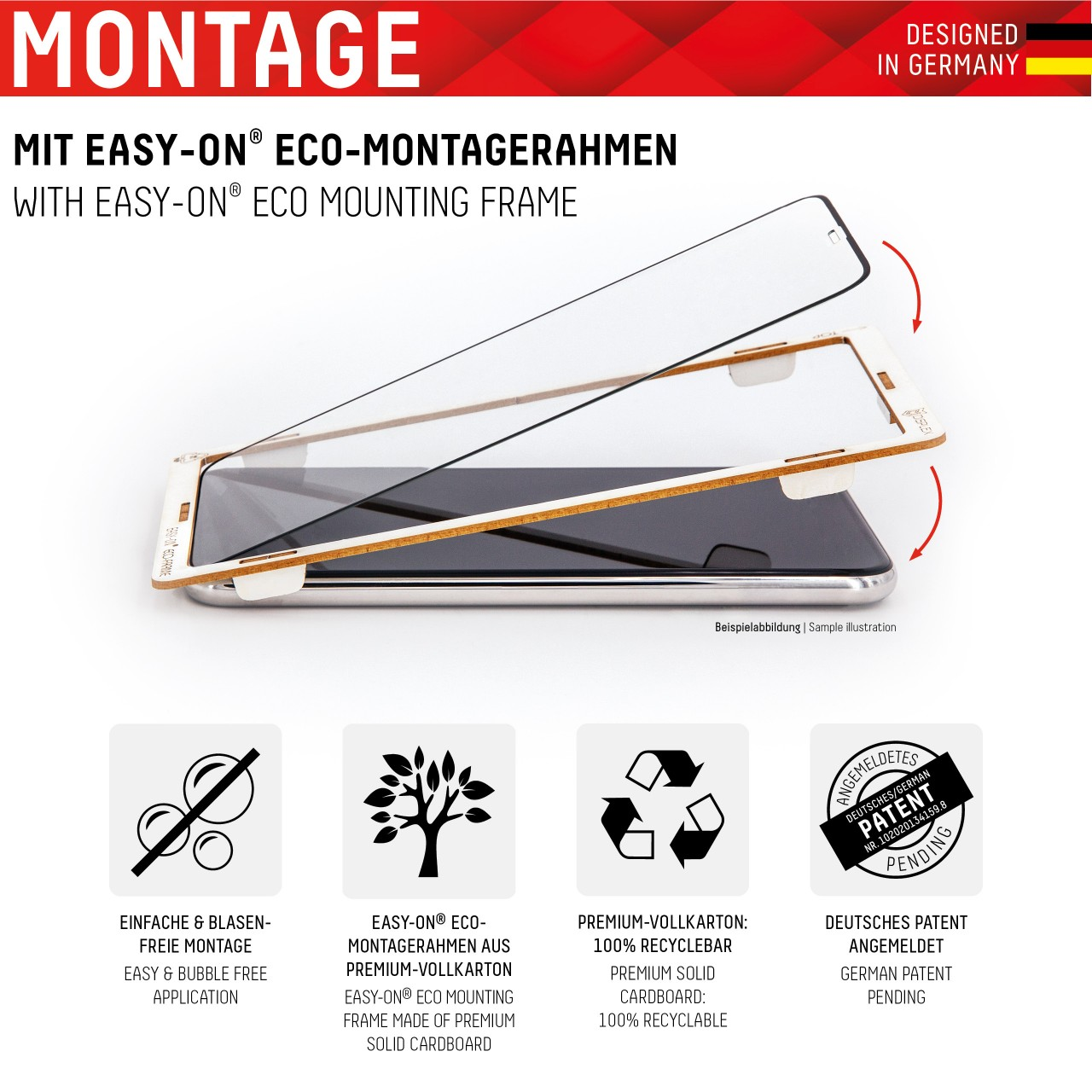 """Real Glass 2in1 ProCare for Samsung Galaxy S20+ (6,7""""), Full Cover"""