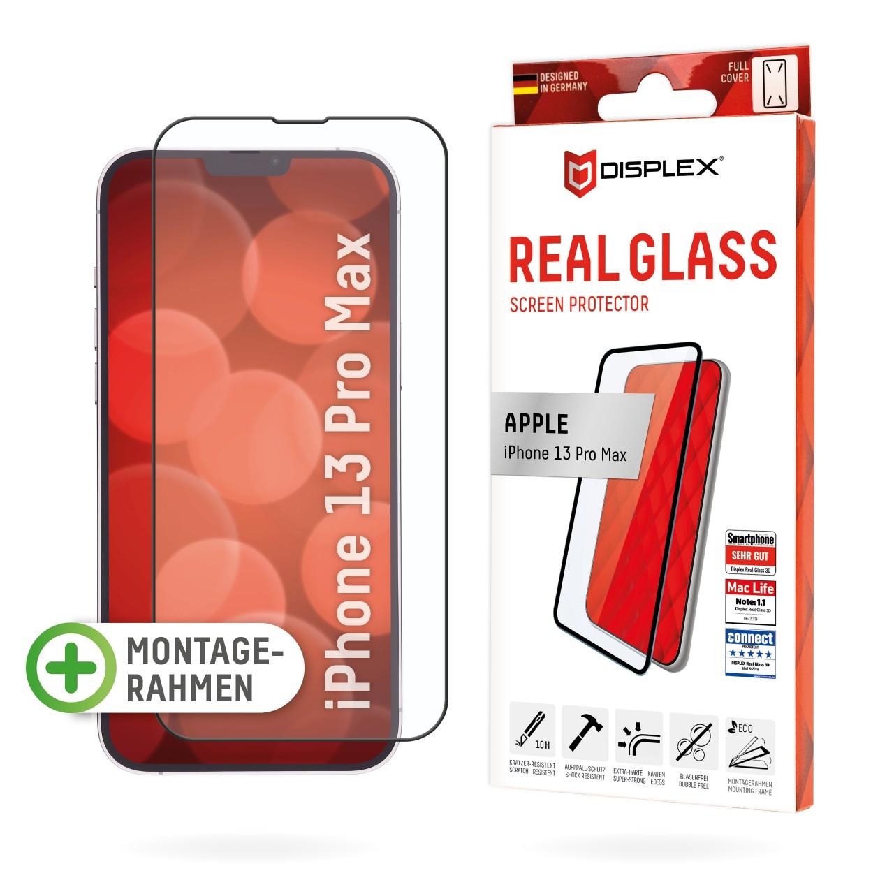 iPhone 13 Pro Max Full Cover Schutzglas