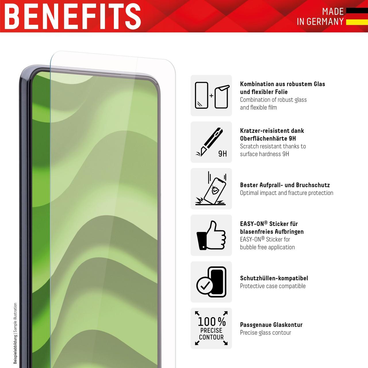 iPhone 6/7/8/SE (2020) Hybrid Glass (2D)